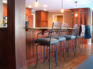 Remodeled Kitchen Bar Stools