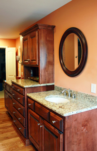 Remodeled Sink and Counter